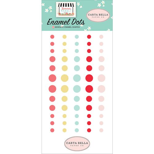 Carta Bella - Summer Market - Enamel Dots