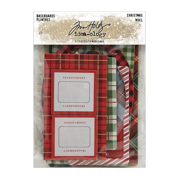 Tim Holtz - Idea-ology - Baseboards Christmas 2020