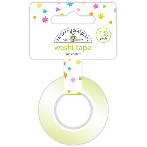 Doodlebug - Washi Tape -  Cute Confetti