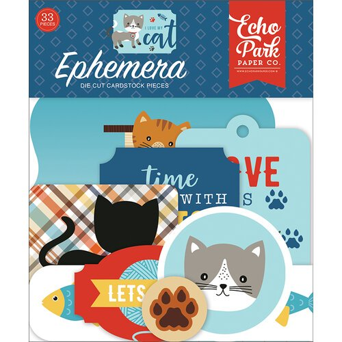 Echo Park - I Love My Cat - Ephemera