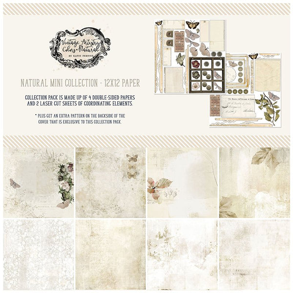 49 and Market - Vintage Artistry - Neutral Mini Collection Kit