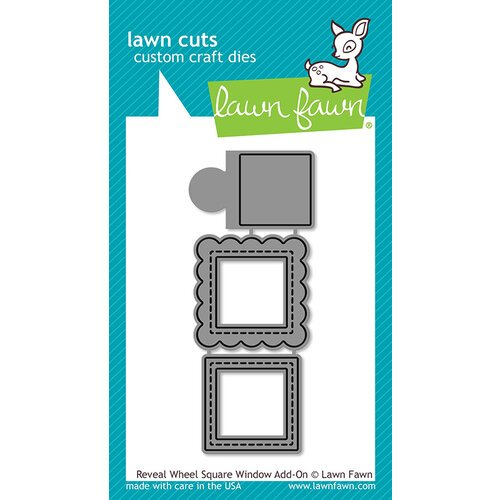 Lawn Fawn - Reveal Wheel Square Window Add-On Die Set