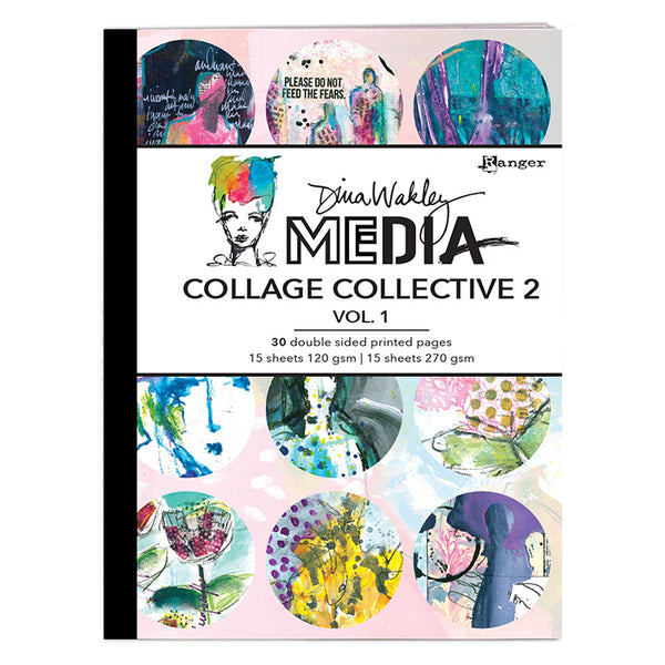 Dina Wakley Media - Collage Collective 2 - Vol. 1