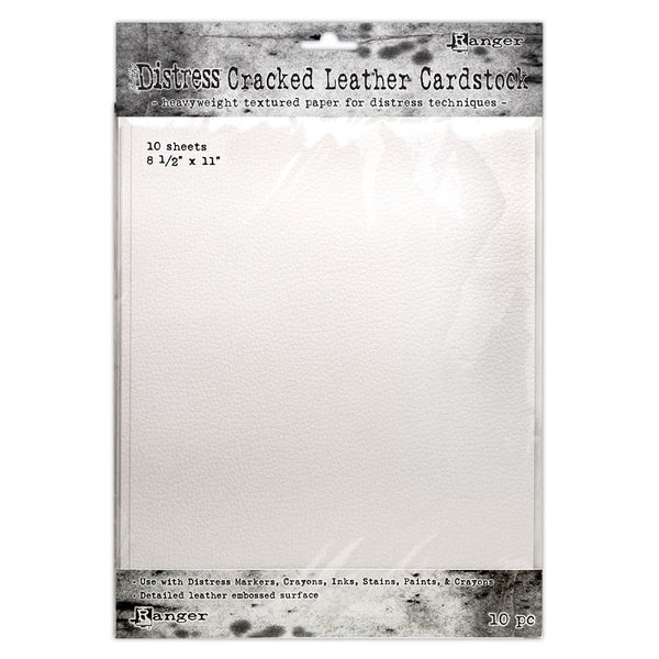 Ranger - Tim Holtz - Distress Cracked Leather Cardstock 8.5 x 11