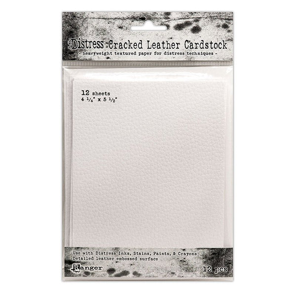 Ranger - Tim Holtz - Distress Cracked Leather Cardstock 4.25 x 5.5