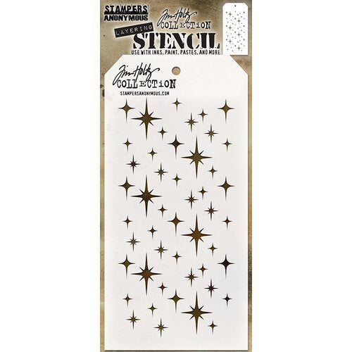 Stampers Anonymous - Tim Holtz -  Sparkle Stencil