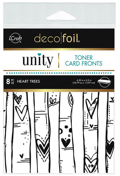 Therm O Web - Toner Card Fronts - Heart Trees