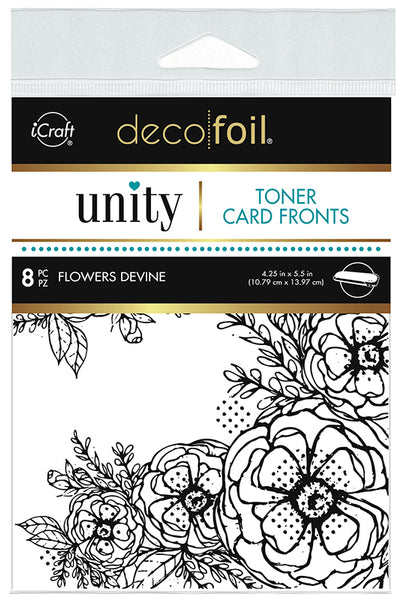 Therm O Web - Toner Card Fronts - Flowers Devine