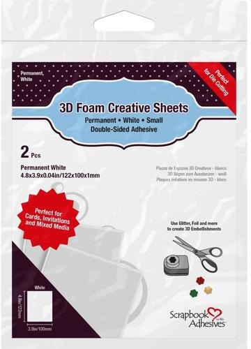 3L Adhesives - 3D Foam Creative Sheets - Thin