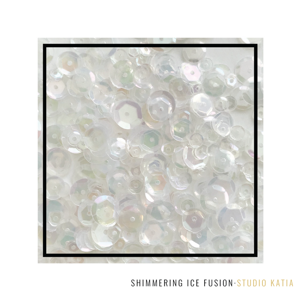Studio Katia - Shimmering Ice Fusion Sequins