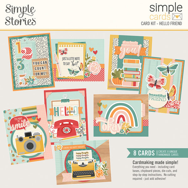 Simple Stories - Simple Cards - Hello Friend Card Kit