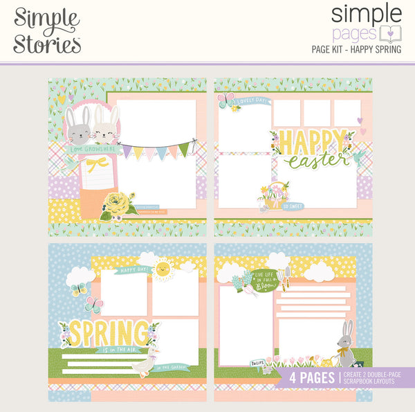 Simple Stories - Simple Pages - Happy Spring Page Kit