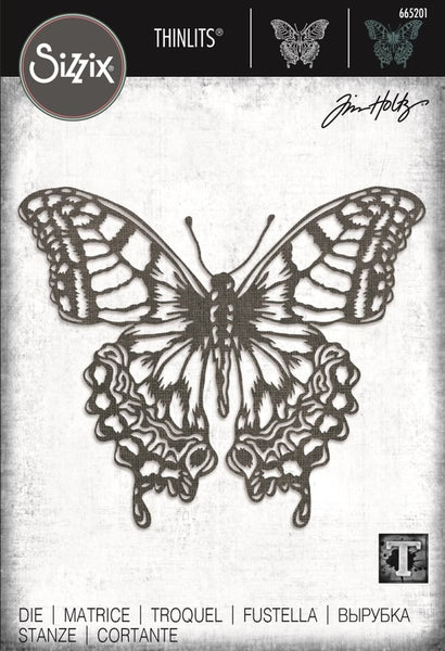 Sizzix - Tim Holtz - Perspective Butterfly Die