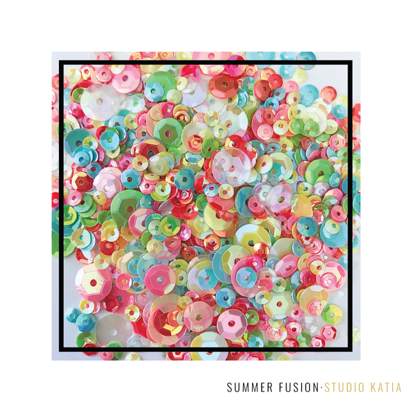 Studio Katia - Summer Fusion Sequin Mix
