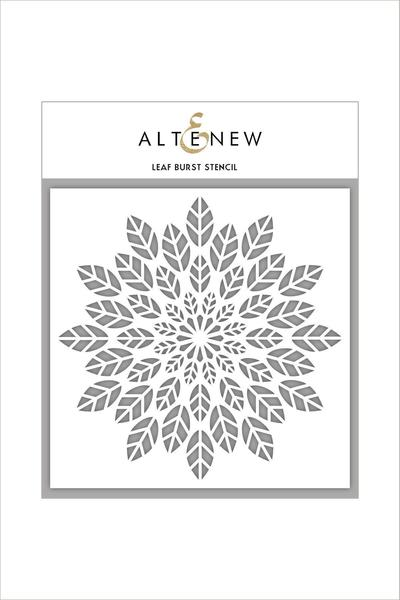 Altenew - 6x6 - Leaf Burst Stencil
