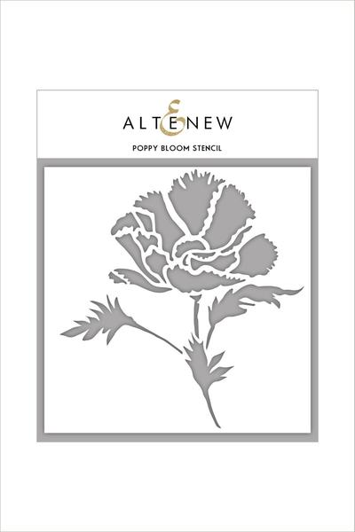 Altenew - 6x6 - Poppy Bloom stencil