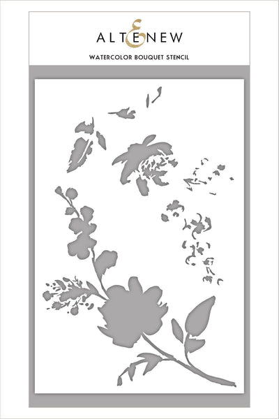 Altenew - Watercolour Bouquet Stencil