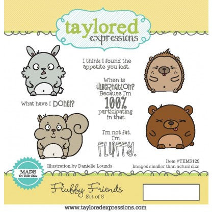 Taylored Expressions - Fluffy Friends stamp set