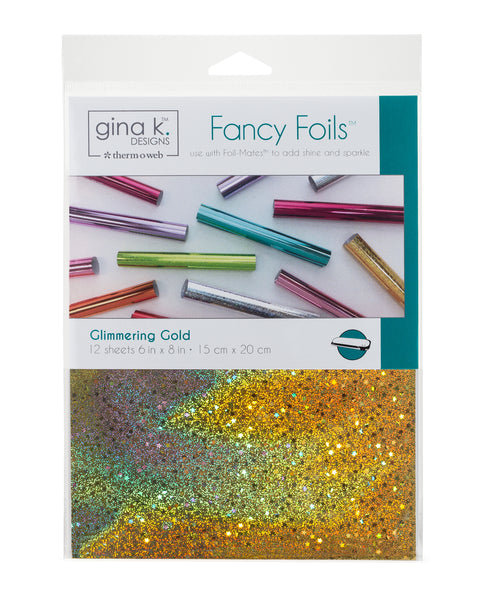 Therm O Web - Fancy Foil - 6 x 8 - Glimmering Gold