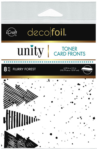 Therm O Web - Unity Stamp Co. - Toner Card Fronts - Flurry Forest