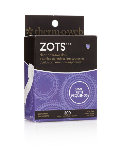 Zots - Clear Adhesive Dots - Small