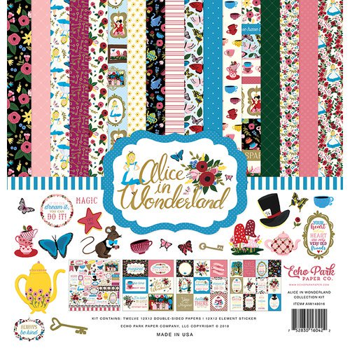 Echo Park - Alice in Wonderland - 12x12 Collection Kit