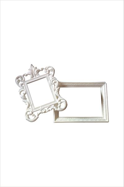 Altenew - Reflection Collection - White Decorative Frames 2/pk