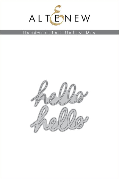 Altenew - Handwritten Hello Die
