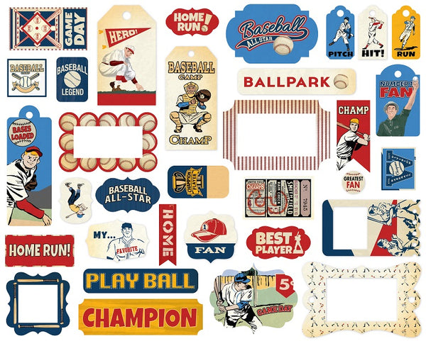Carta Bella - Baseball - Frames & Tags