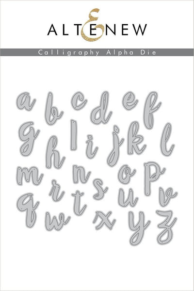 Altenew - Calligraphy Alpha die set