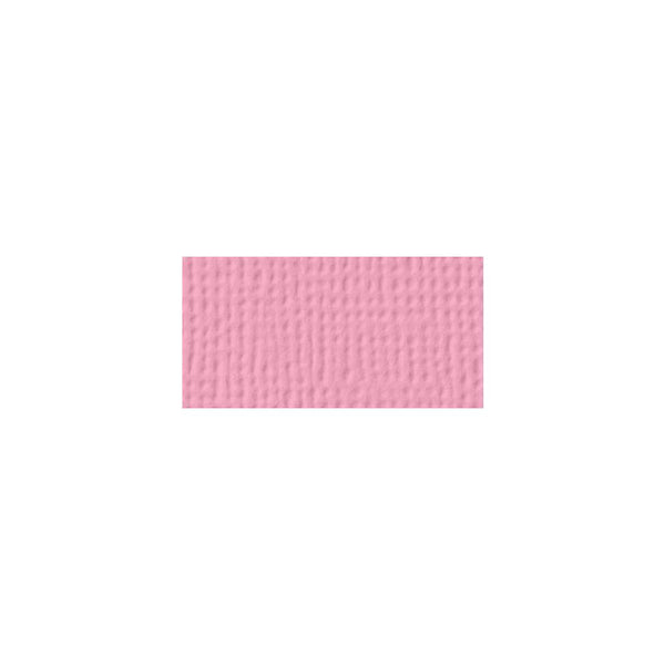 American Crafts - 12x12 Textured Cardstock - Cotton Candy