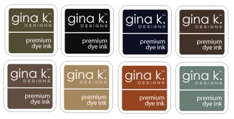 Gina K Designs - Ink Cubes - Neutral Assortment