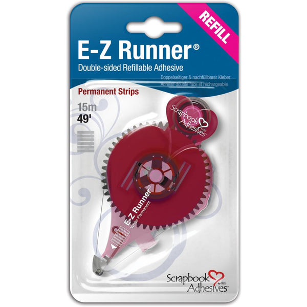 Scrapbook Adhesives - E-Z Runner - Refill - strips