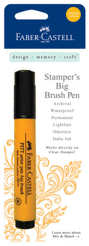 Faber-Castell - Stampers Big Brush Pen - Chrome Yellow