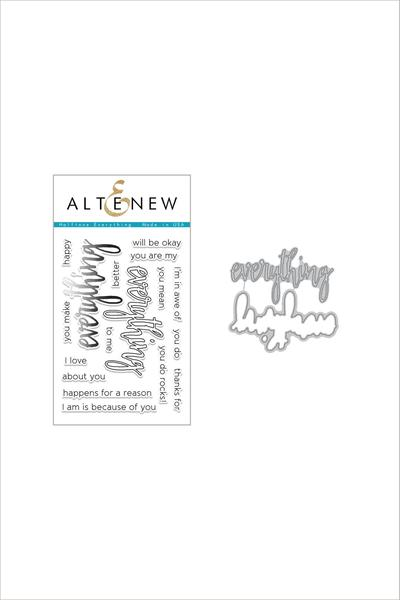 Altenew - Halftone Everything - Stamp & Die Bundle