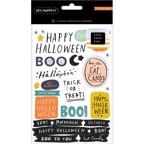 Crate Paper - Hey Pumpkin - Sticker Book