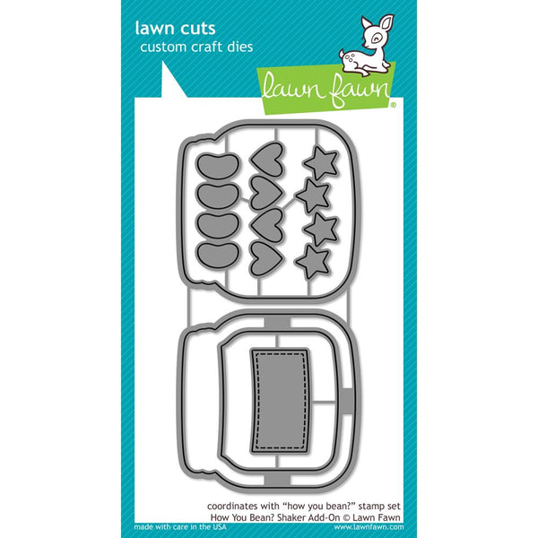 Lawn Fawn - Lawn Cuts - How You Bean? Shaker Add-on die set