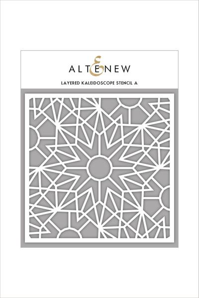 Altenew - 6x6 - Layered Kaleidoscope A stencil