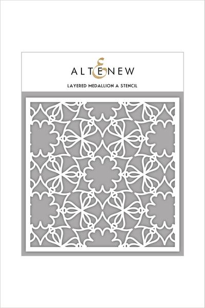 Altenew - 6x6 - Layered Medallion A stencil