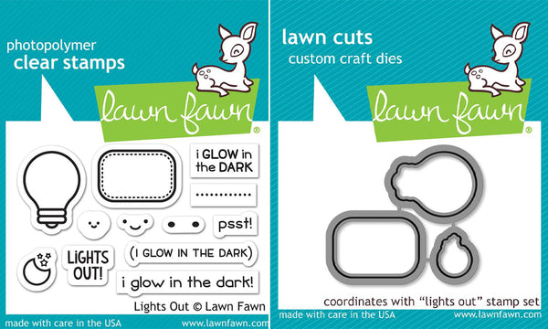 Lawn Fawn - Lights Out Bundle