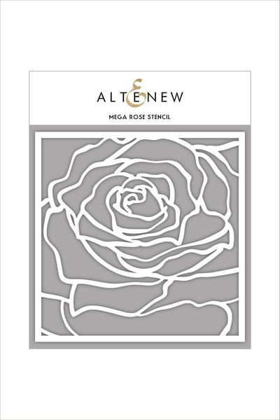 Altenew - 6x6 - Mega Rose stencil