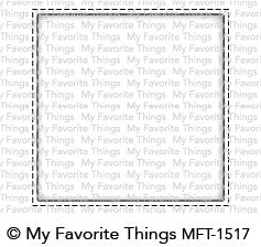 My Favorite Things - Selfie Square die