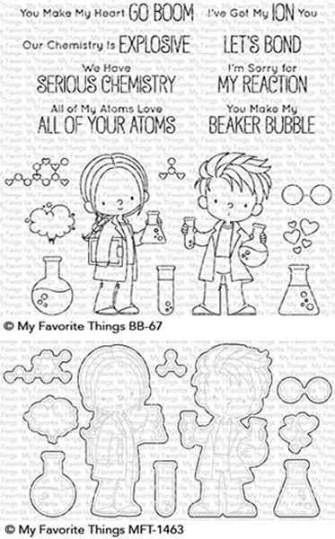 My Favorite Things - Cut Chemists stamp & die Bundle
