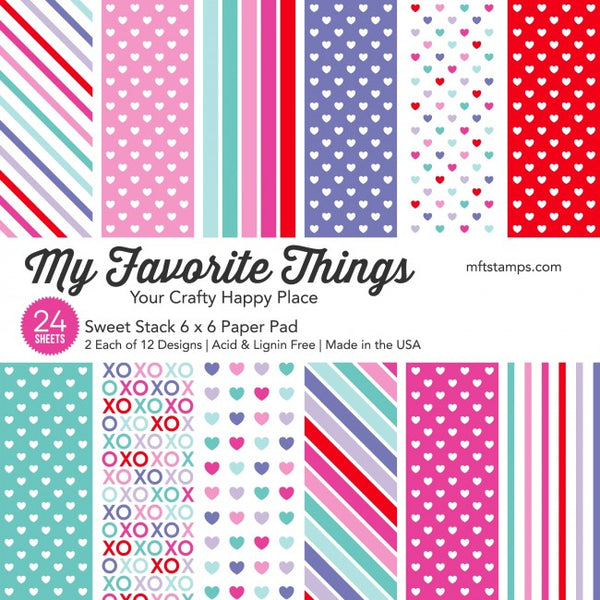 My Favorite Things - Sweet Stack 6x6 paper pad