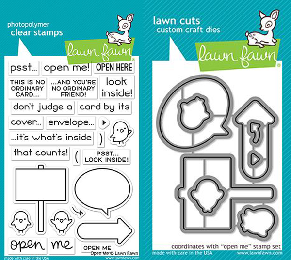 Lawn Fawn - Open Me - Stamp & Die Bundle