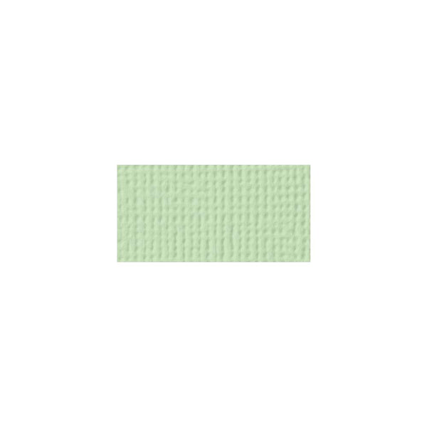 American Crafts - 12x12 Textured Cardstock - Peapod
