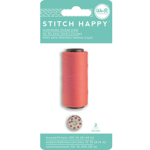 We R Memory Keepers - Stitch Happy  - Thread - Red