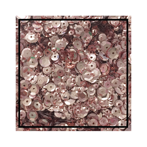 Studio Katia - Rose Gold Metallic Fusion Sequins