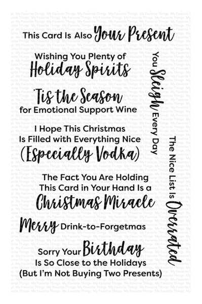 My Favorite Things -  Sassy Pants Holiday Too - Stamp Set