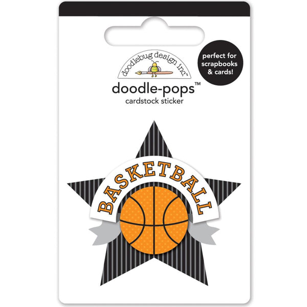 Doodlebug Design - doodle-pops 3D sticker - Slam Dunk